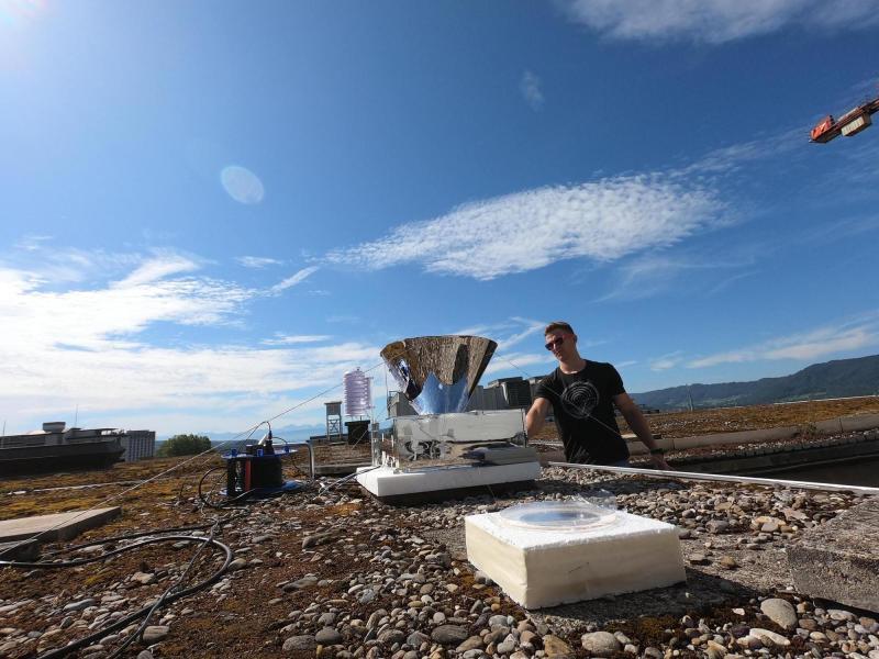 , Suizo creó un dispositivo que convierte el aire en agua potable sin necesidad de energía eléctrica