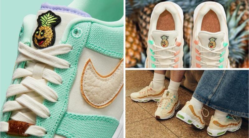 , Nike lanza nueva colección de Calzado vegano fabricados con cuero de piña