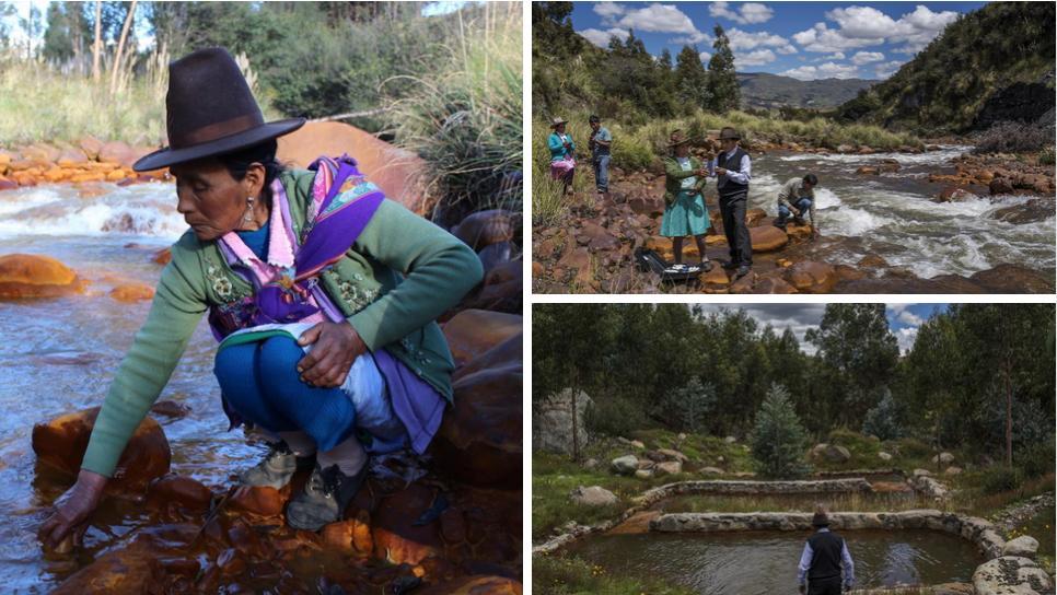 Comunidad campesina logró curar su rio de metales pesados y es finalista a premio mundial