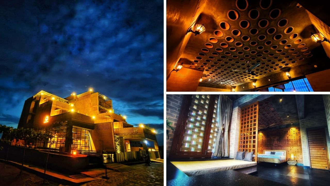 Este hotel completamente ecológico cosecha lluvia, tiene aire acondicionado cero costo y funciona con el sol