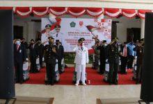 Photo of HUT RI ke 75 , Forkopimda Sidoarjo Ikuti Upacara Detik-Detik Proklamasi Istana Negara melalui Daring