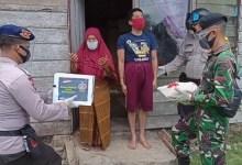 Photo of Jalin Sinergitas, Brimob Aceh Bersama Muspika Simpang Keuramat serta TNI Kembali Bagikan Sembako