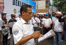 Photo of Pasangan Calon Bupati Independen daftar, Ribuan Relawan TOTO Banjiri Kantor KPU Indramayu