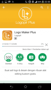 Cara Install Logo Maker Plus
