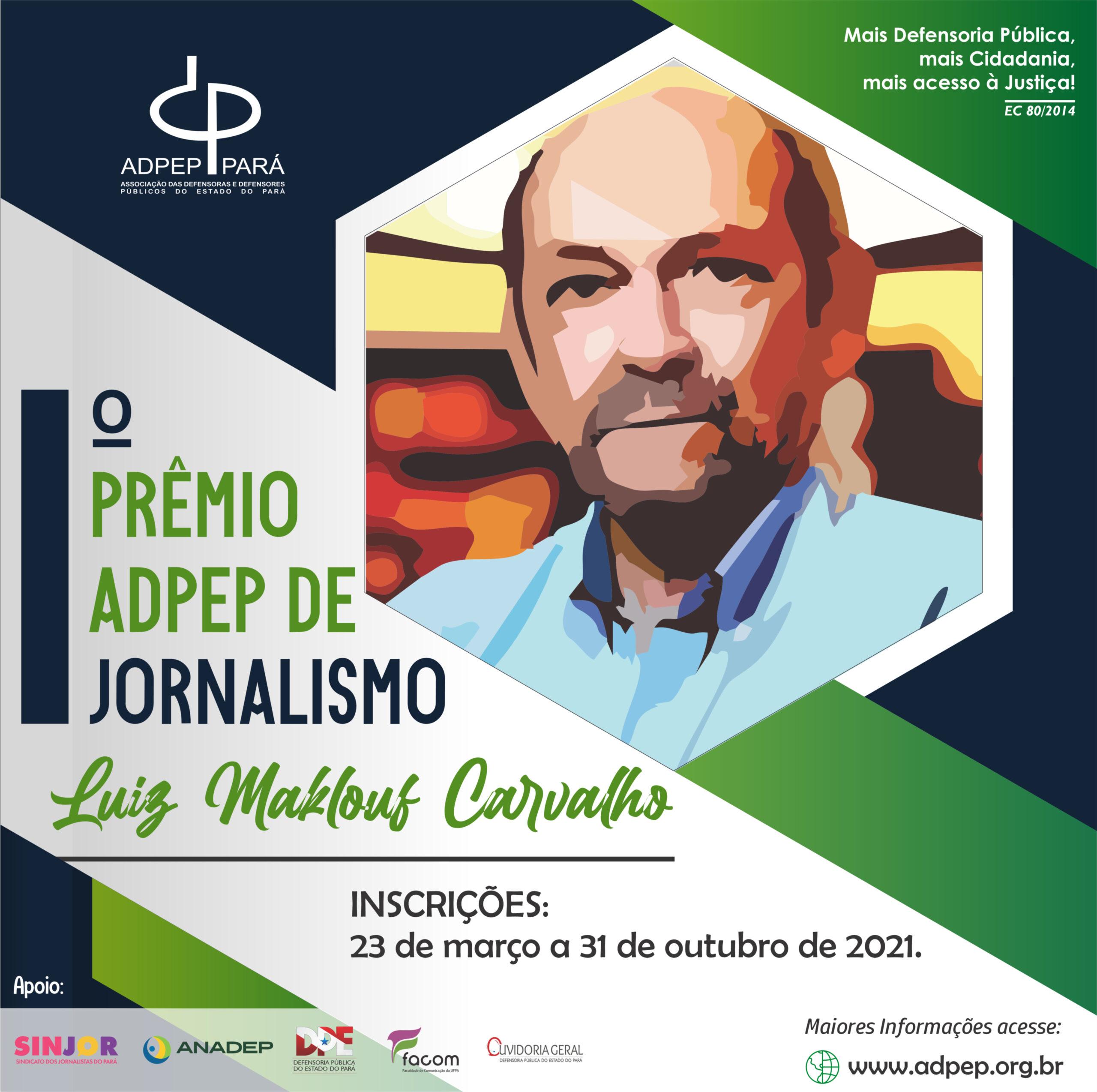 ADPEP premia jornalistas brasileiros que publiquem sobre direitos humanos na Amazônia através da atuação da Defensoria Pública do PA