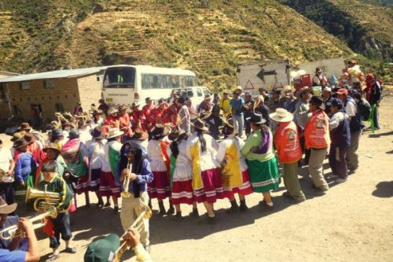 La Festividad de San Nicolás de Tolentino se celebra cada 10 de setiembre, y durante seis días, en la localidad de Mollebamba.