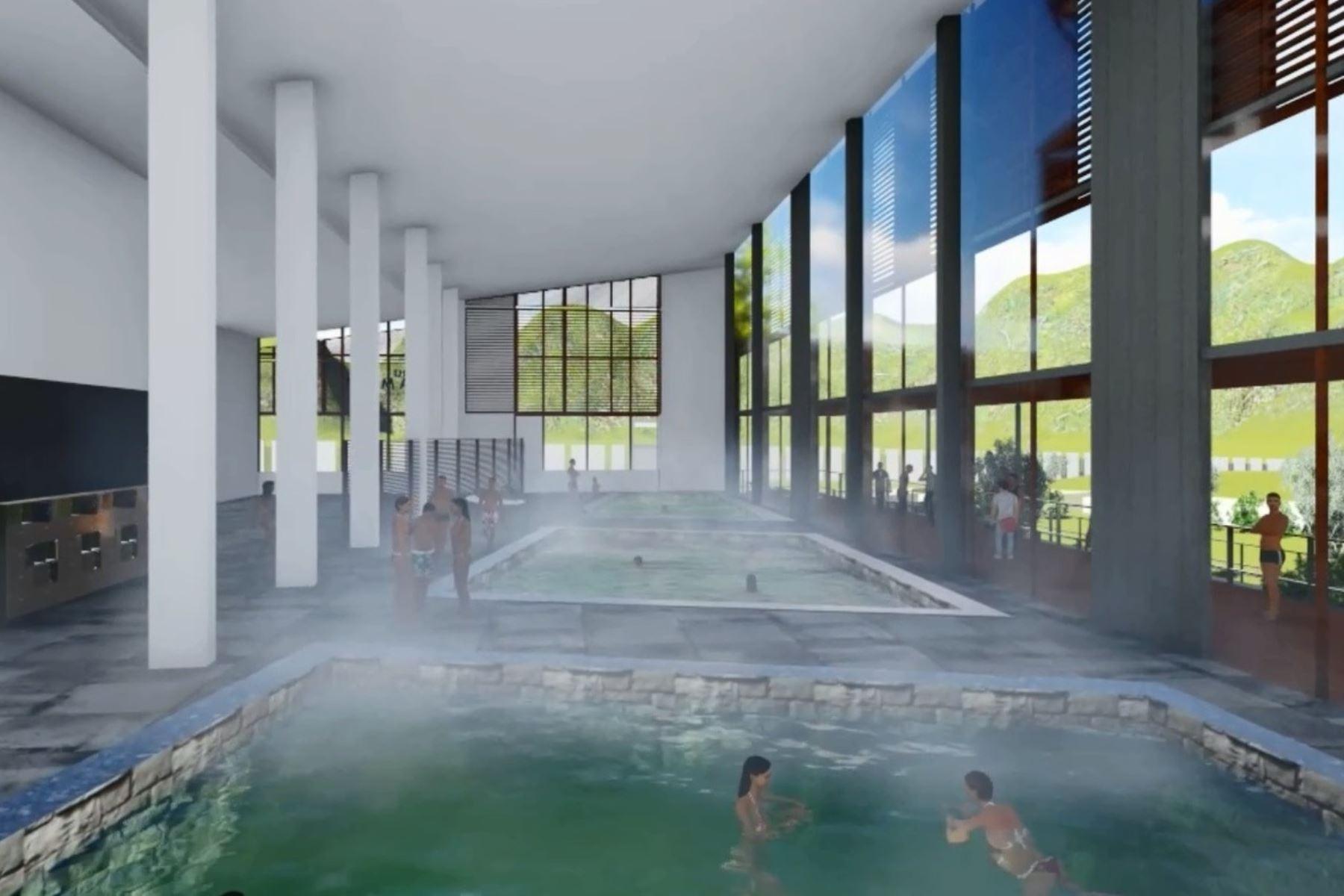 Resultado de imagem para los baños del inca
