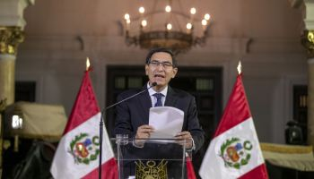 Presidente Vizcarra anuncia disolución constitucional del Congreso