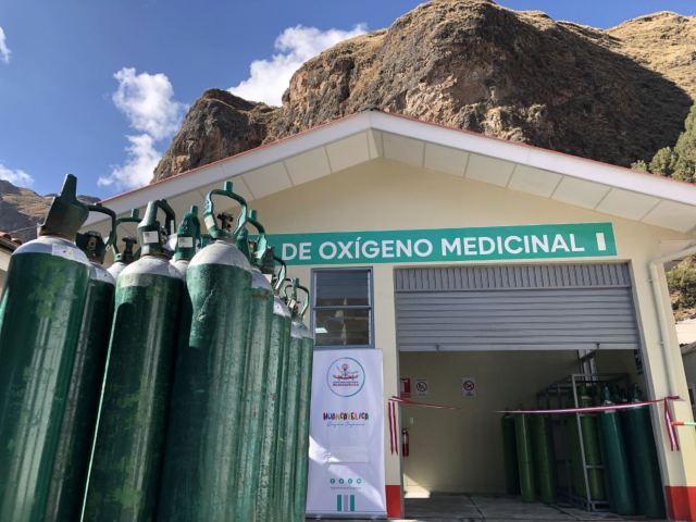 En Huancavelica entregarán gratis oxígeno medicinal a quienes lo necesitan. Los familiares de pacientes enfermos con coronavirus (covid-19) deberán presentar la receta médica para recibir el vital insumo.