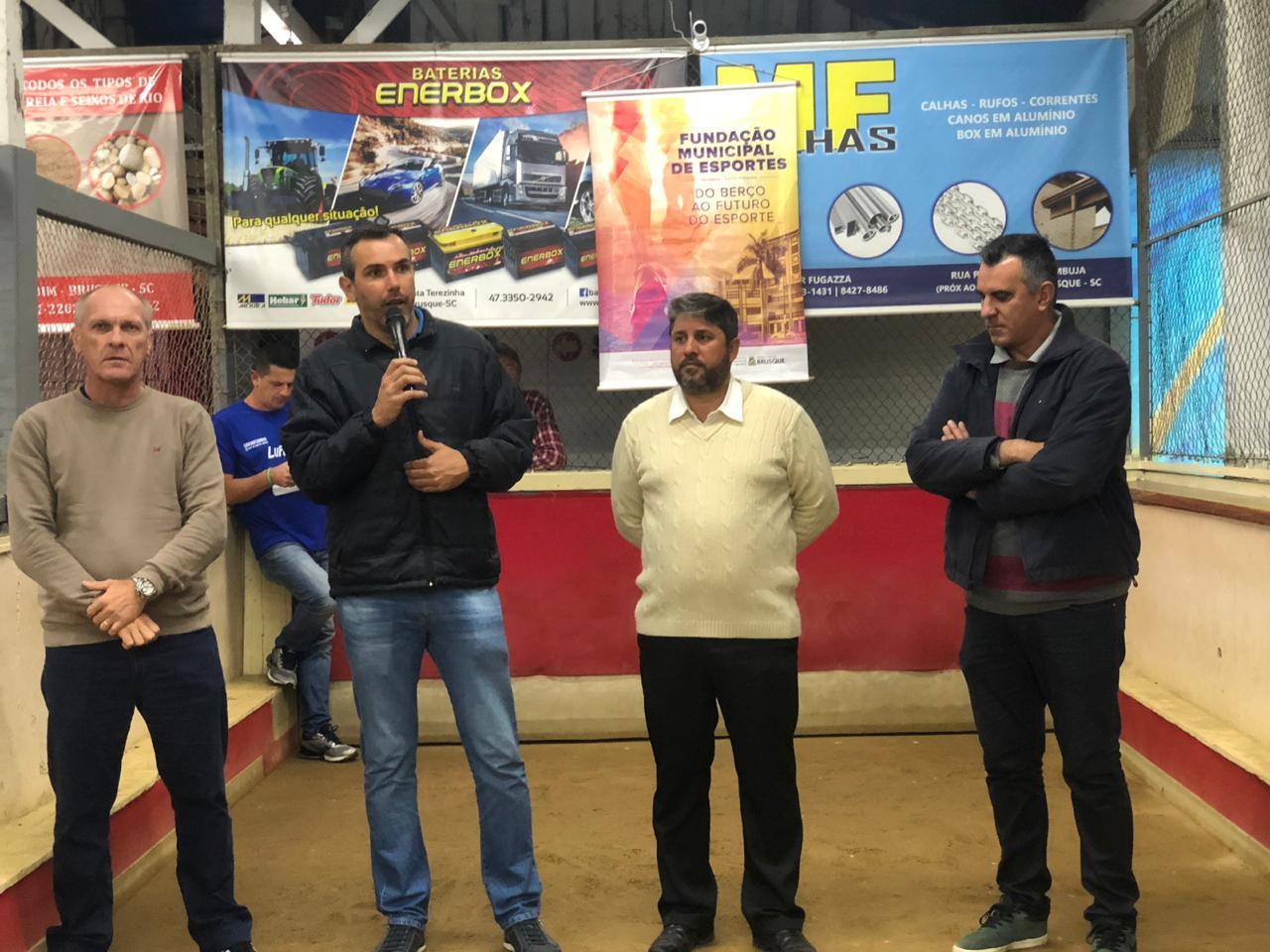 Prefeitura promove terceira edição do Campeonato Municipal de Bocha Vale Tudo Masculino em Trio