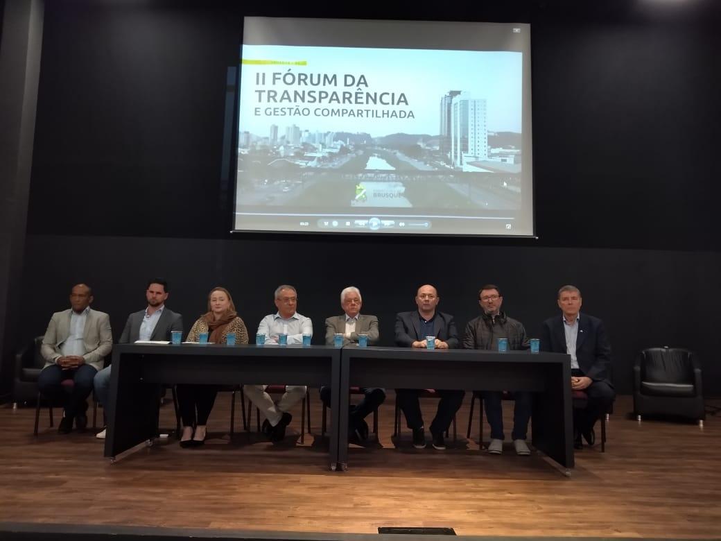 Fórum da Transparência atrai grande público