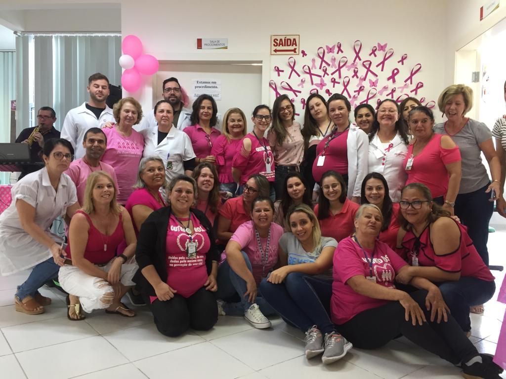 Outubro Rosa movimenta moradoras do bairro São Luiz