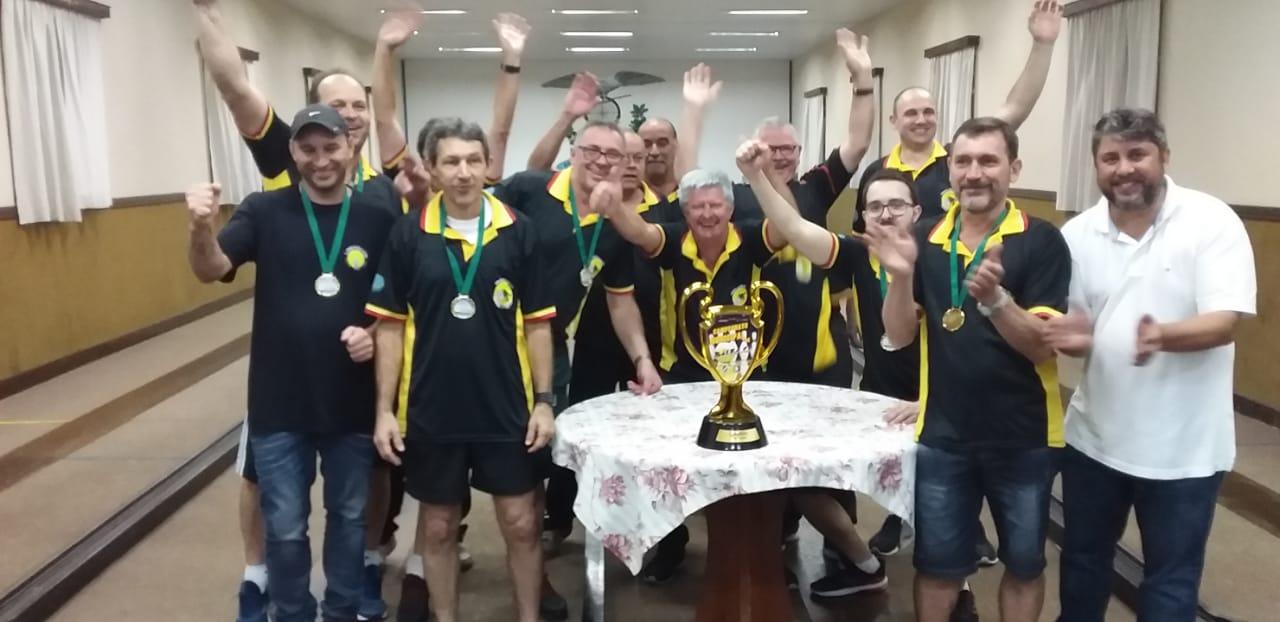 Treze de Maio A é campeão do Municipal de Bolão Masculino