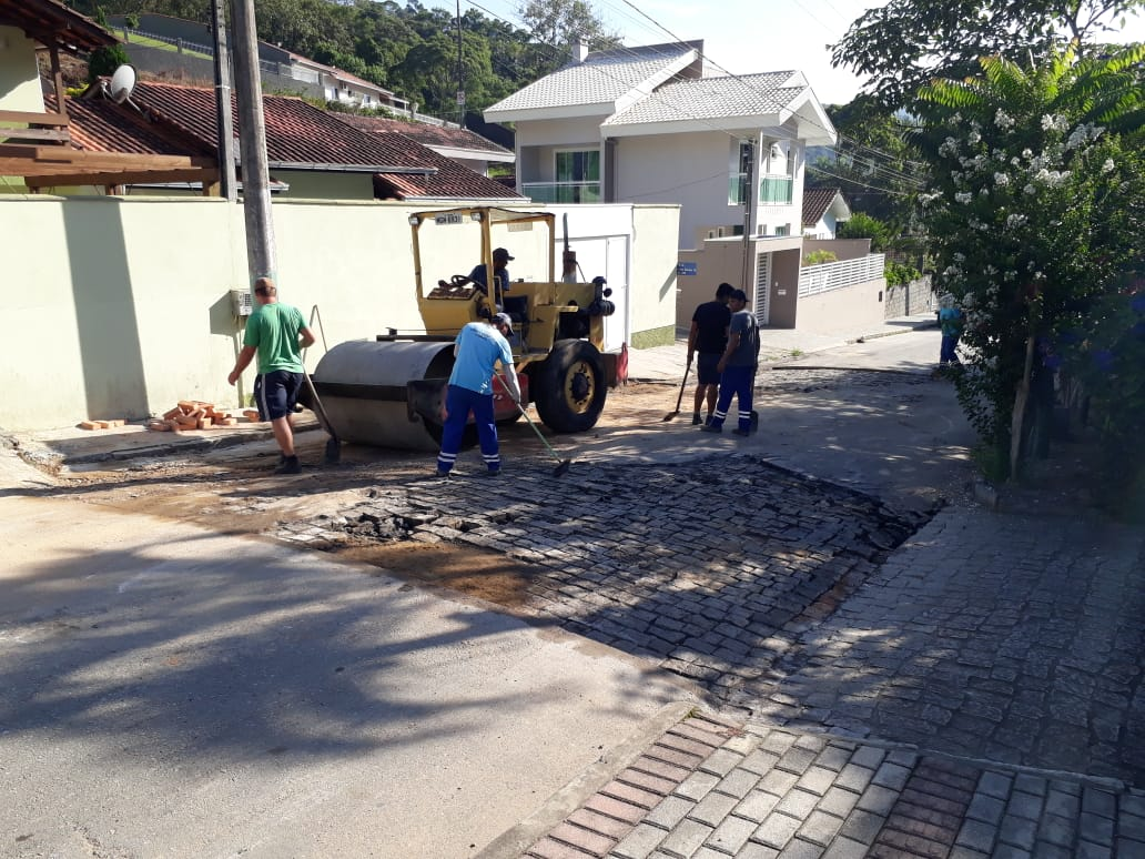 Obras: recuperação do município após temporal de sexta-feira é prioridade