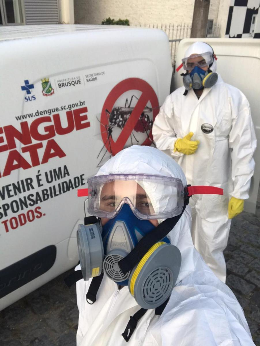 Brusque registra 26 casos de dengue