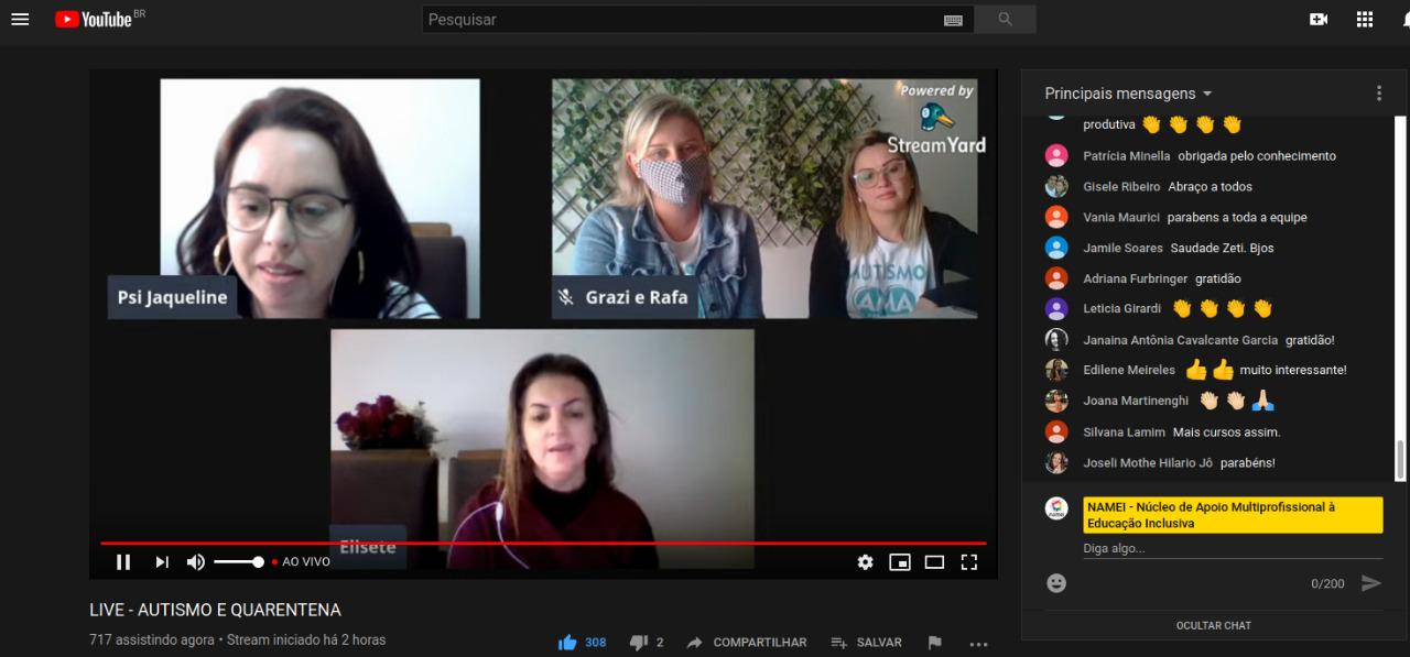 Secretaria da Educação e AMA realizam formação online sobre o Autismo