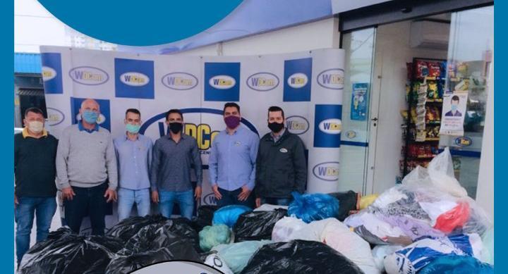 Secretaria de Assistência Social recebe doação de roupas para o inverno