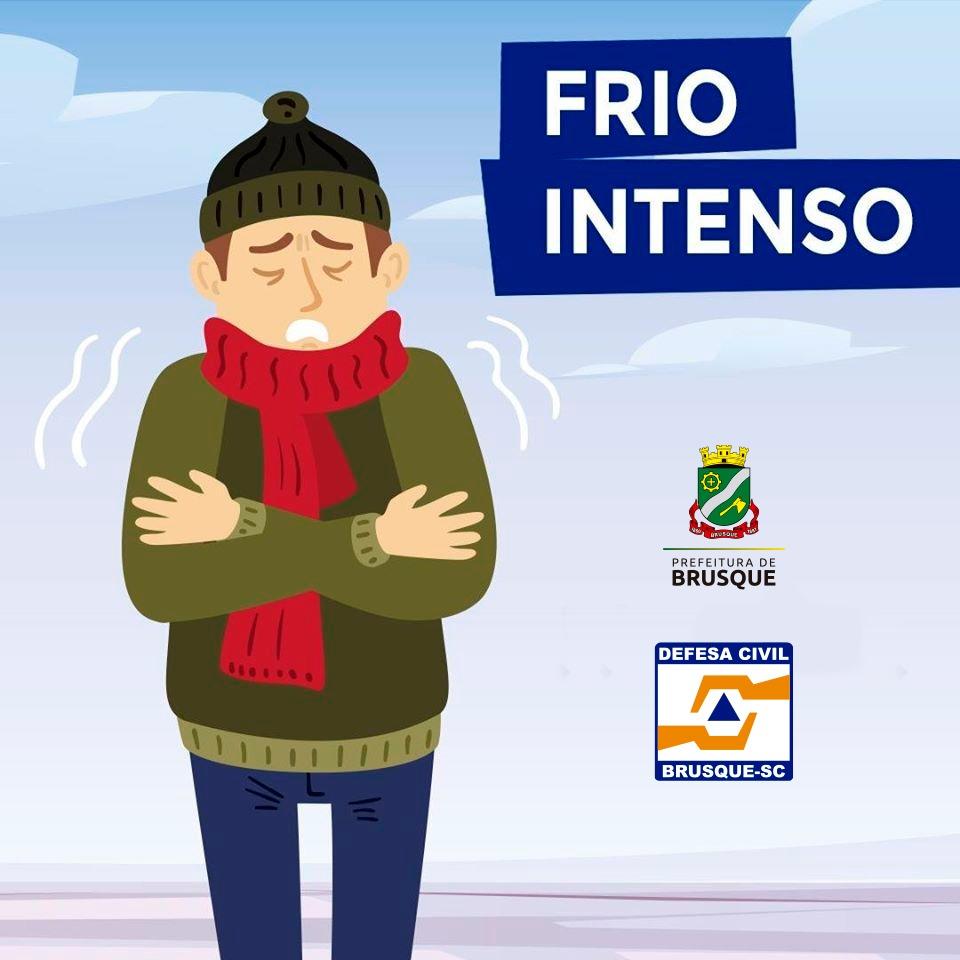 Defesa Civil e Assistência Social reforçam pedido de atenção devido ao período de frio intenso