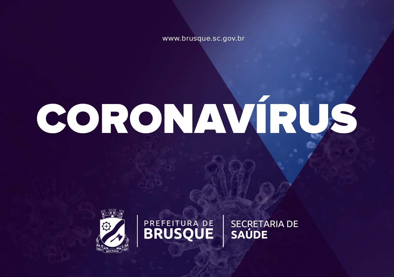Brusque registra mais três mortes por coronavírus