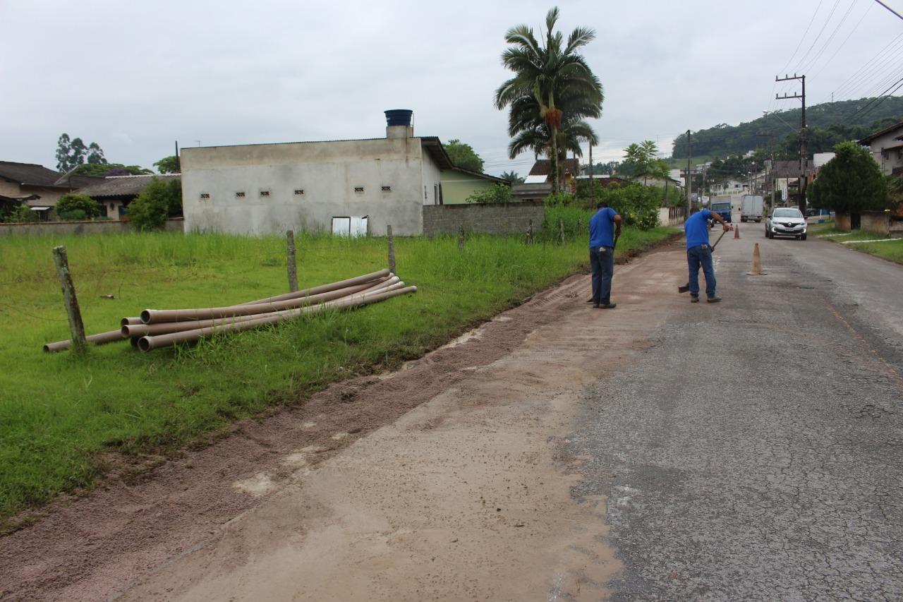 Novas tubulações irão garantir maior pressurização em rede de água no Guarani