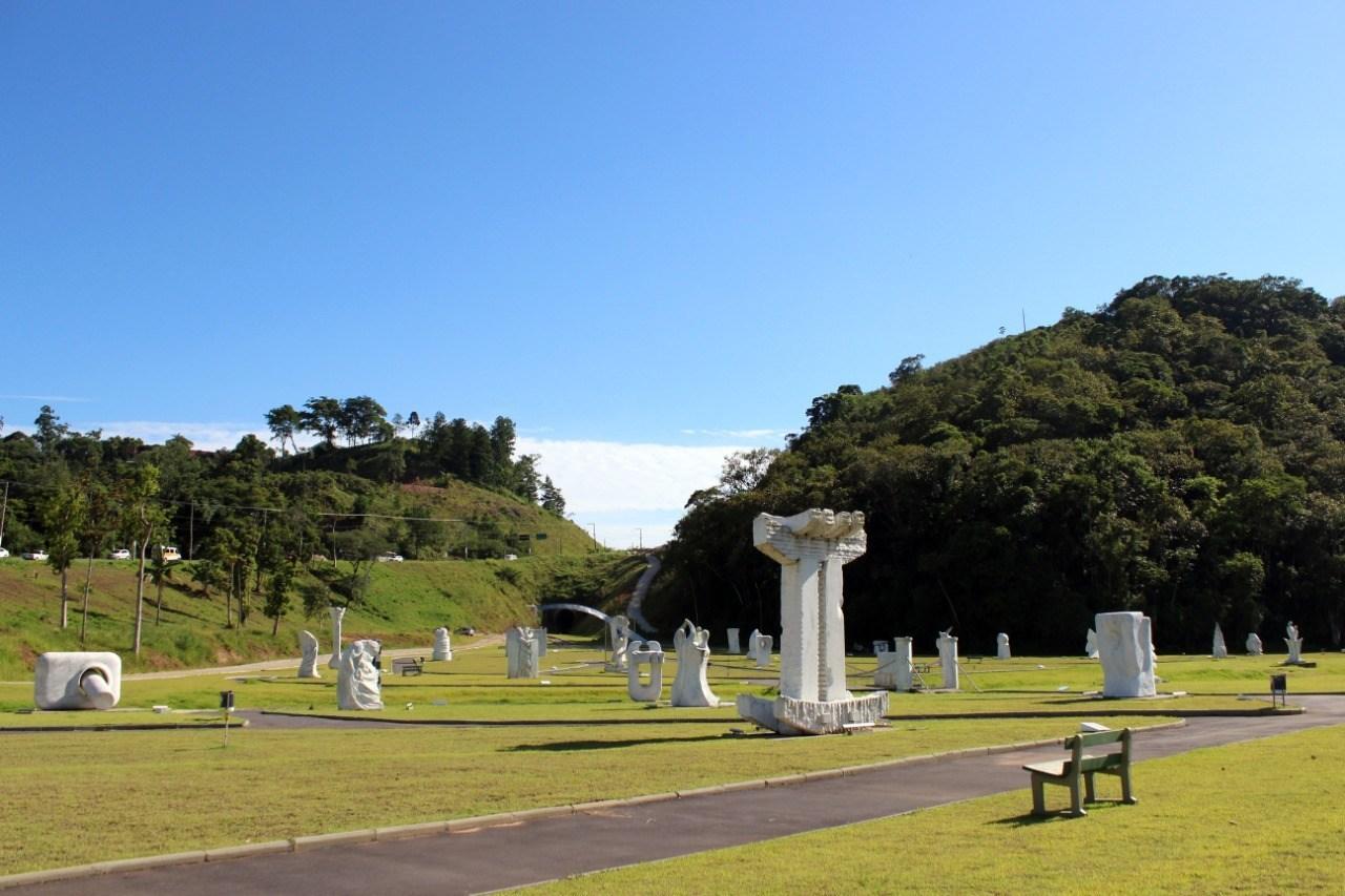 Parque das Esculturas é reaberto ao público