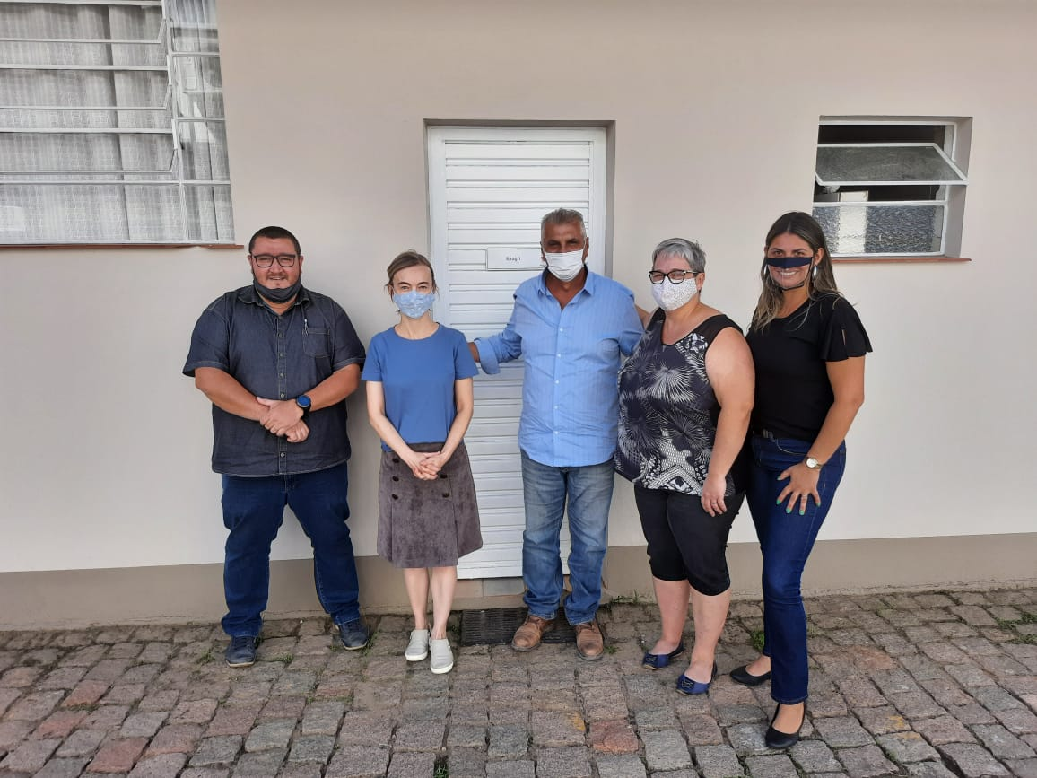 Representantes do Horto Florestal realizam visita técnica em Pomerode Rio dos Cedros
