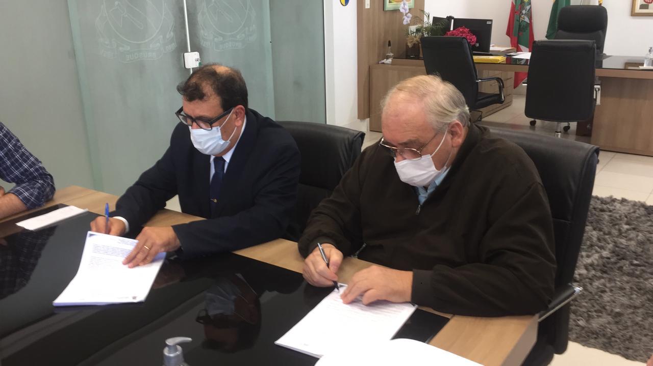 Prefeitura renova contrato com o Hospital Azambuja