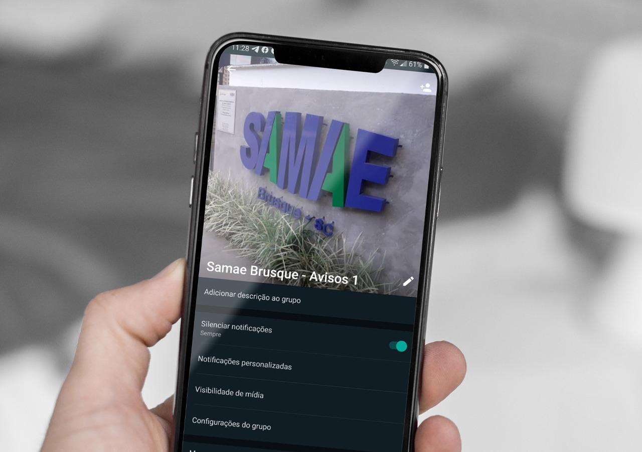 Samae cria grupo de avisos para a população no WhatsApp