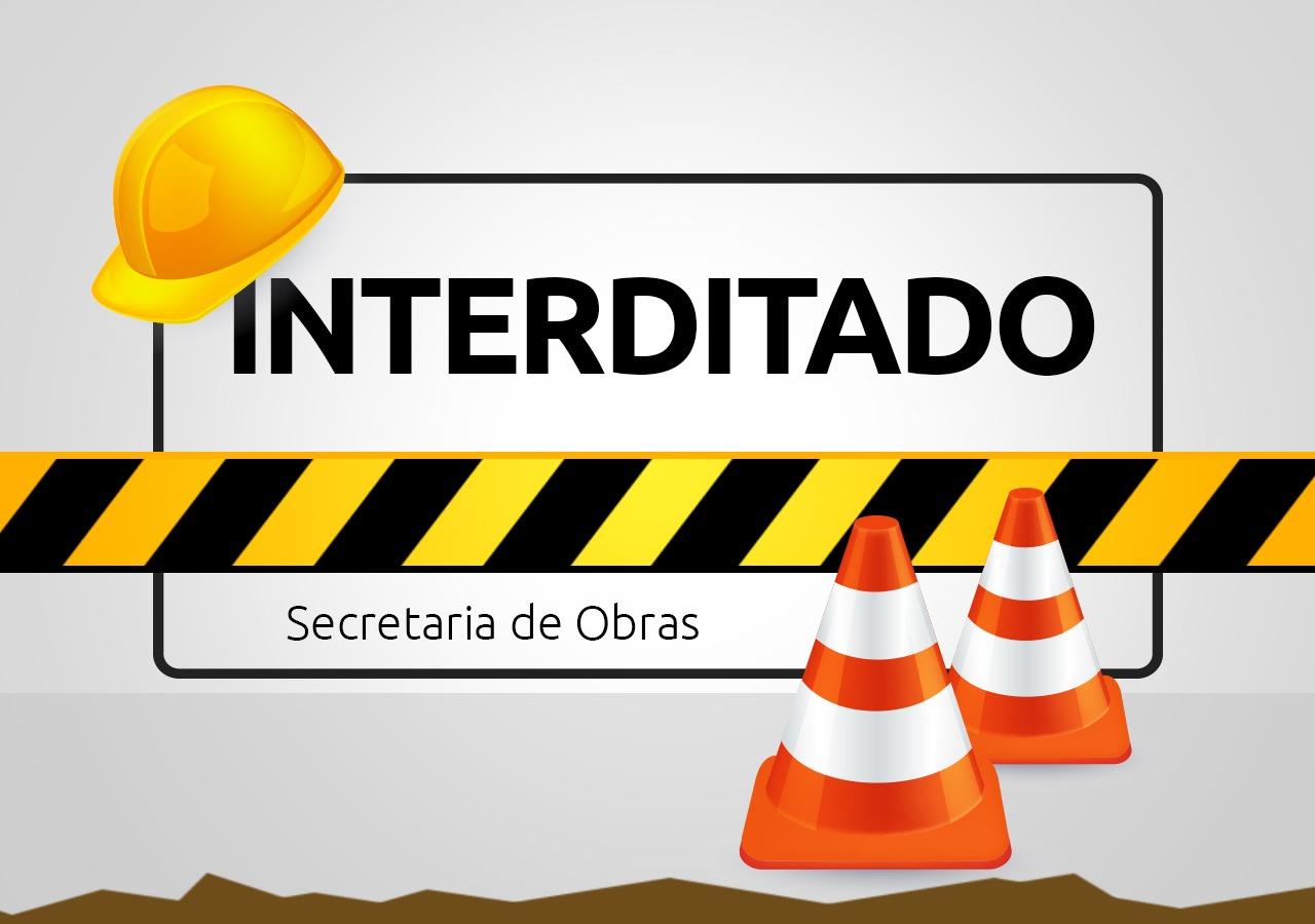 Obras na Pedro Werner vão ser retomadas nesta quarta-feira (11)