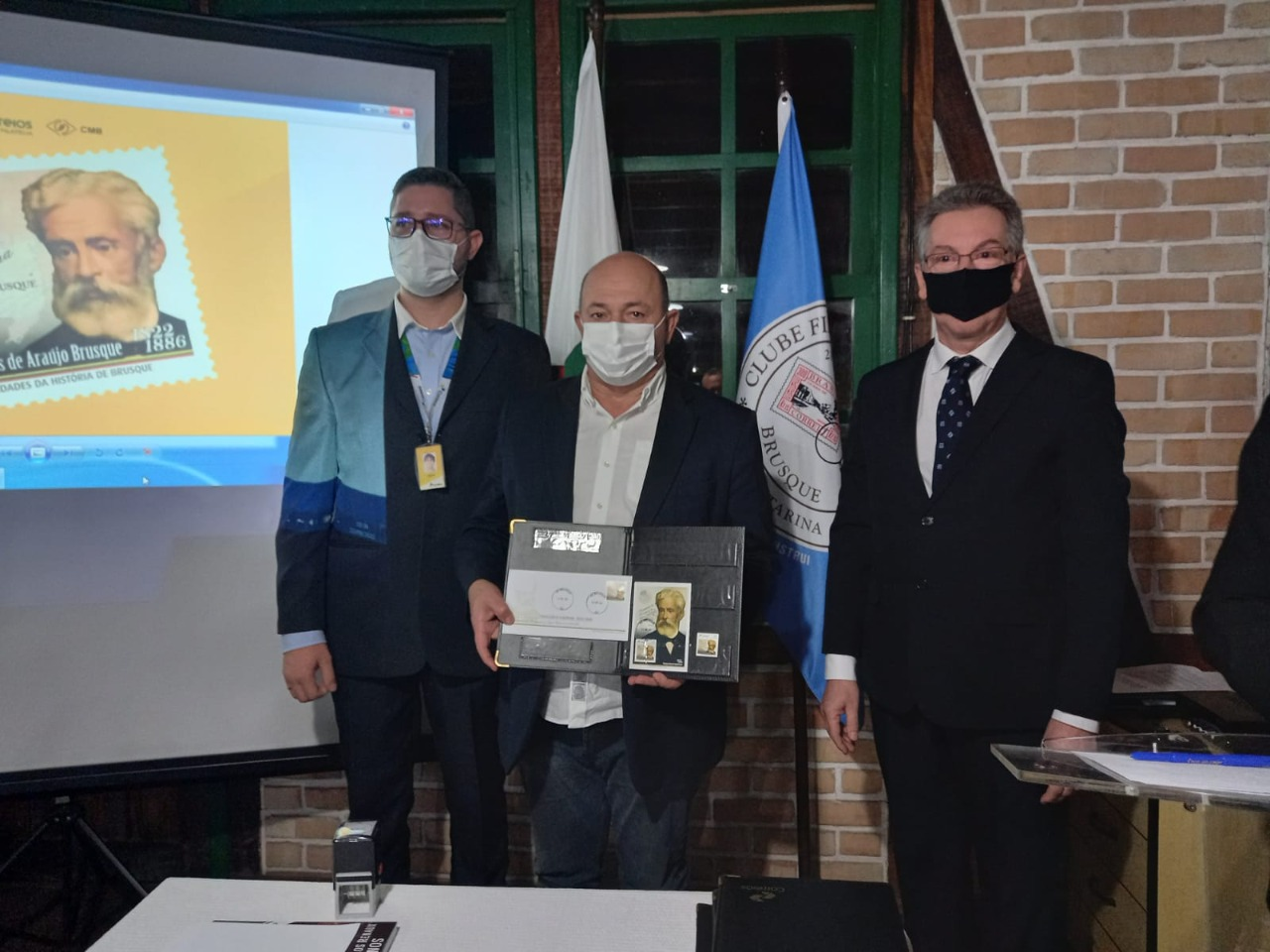 Prefeito Ari Vequi participa de evento que marca um pedaço da história de Brusque