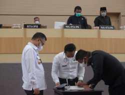 Fraksi di DPRD Kota Kendari Terima Penetapan Raperda Pertanggungjawaban APBD 2020