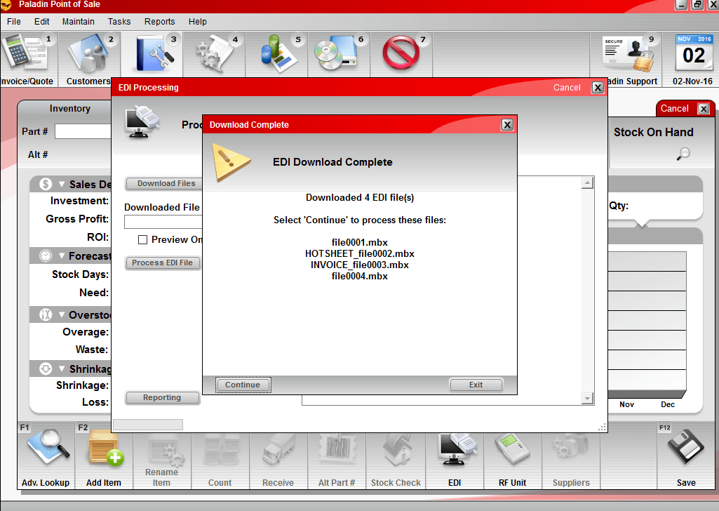EDI: Ace Hardware: How to send and receive files