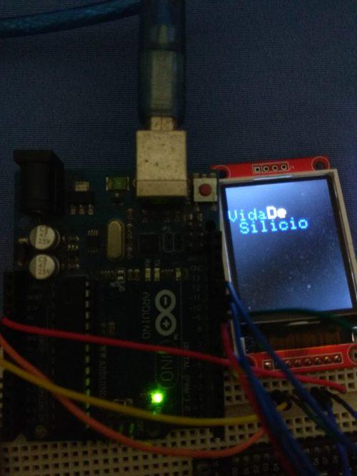 Usando Display TFT 1 8