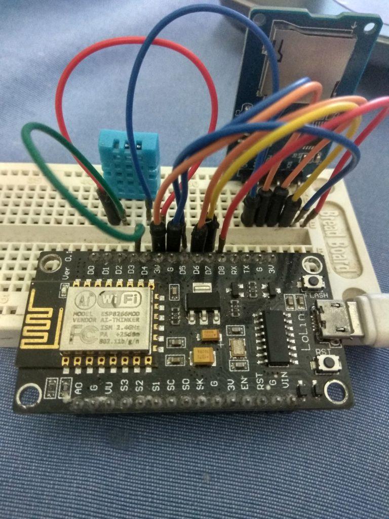 Módulo Cartão micro SD - Construindo um datalogger - NodeMCU