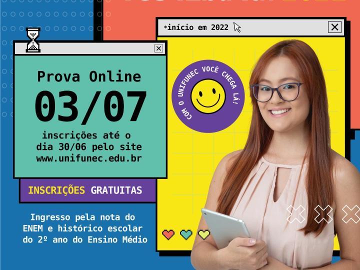 """Centro Universitário de Santa Fé do Sul lança campanha de vestibular """"Com o Unifunec você chega lá"""""""