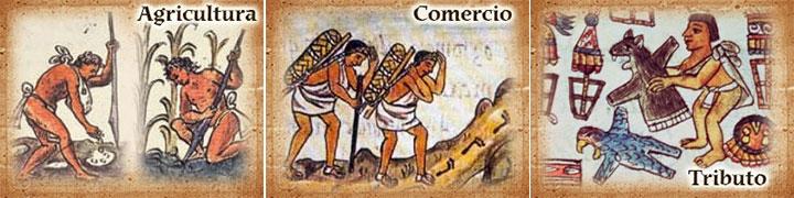 Resultado de imagen para economía en tenochtitlan