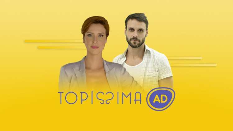 Logo do resumo semanal da novela Topíssima.