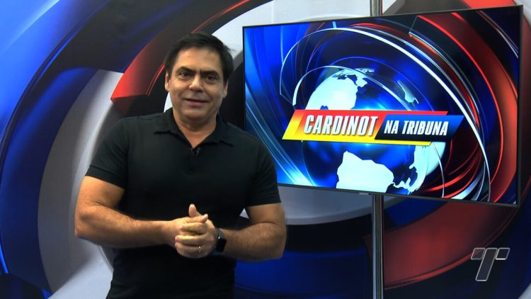 Cardinot estreia na TV Tribuna, afiliada da Band
