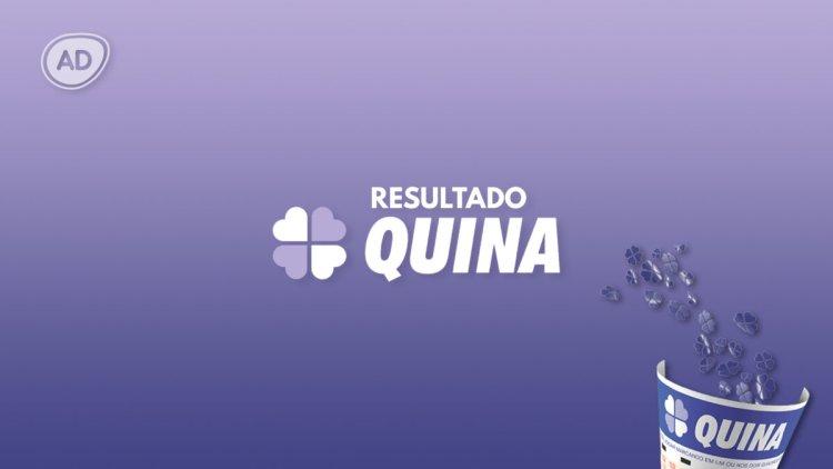 Logo do resultado da Quina