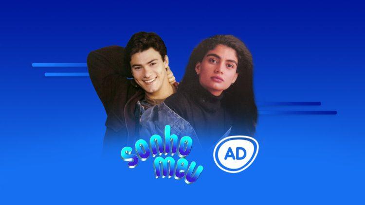 Logo do resumo semanal da novela Sonho Meu no canal Viva