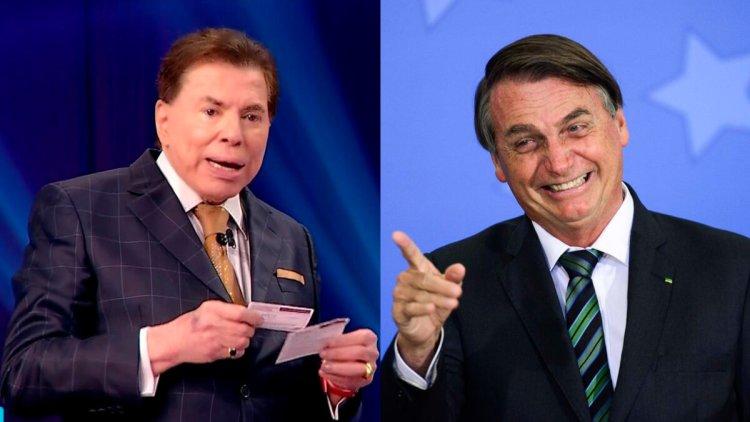 Silvio Santos no Roda e Roda deste domingo 27/07/2021 e Jair Bolsonaro