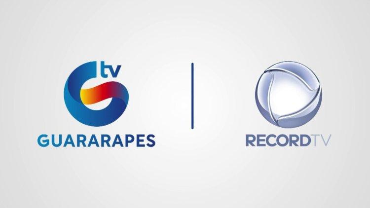Logo da TV Guararapes, afiliada da Record TV em Recife