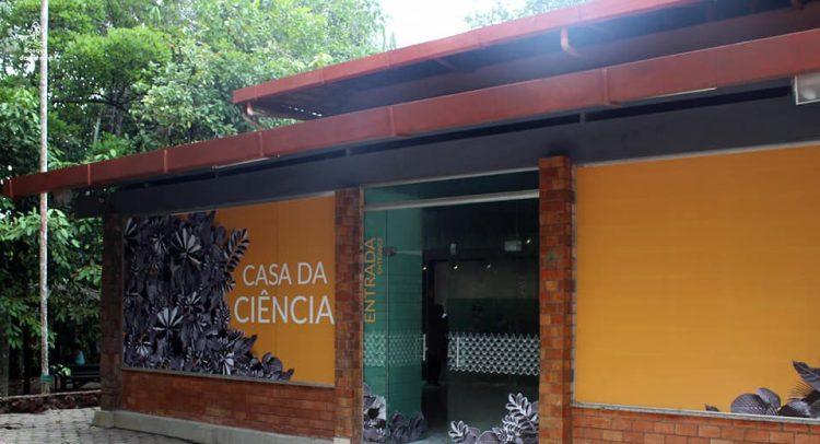 Casa da Ciência, no bosque da Ciência. Foto: Divulgação/ INPA