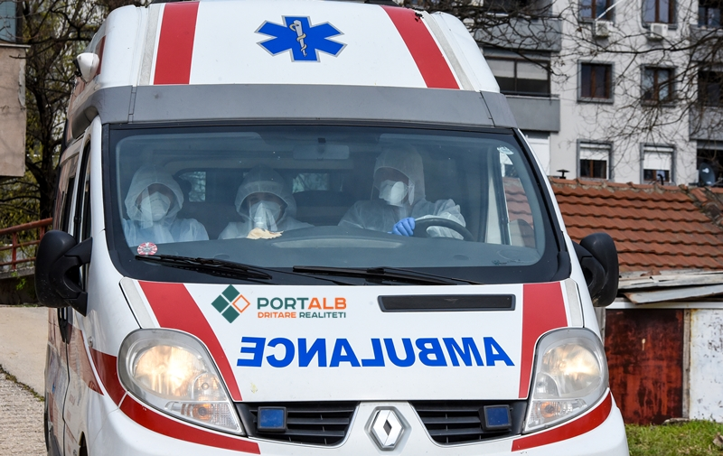 Virusi korona, ambulanca, infektim