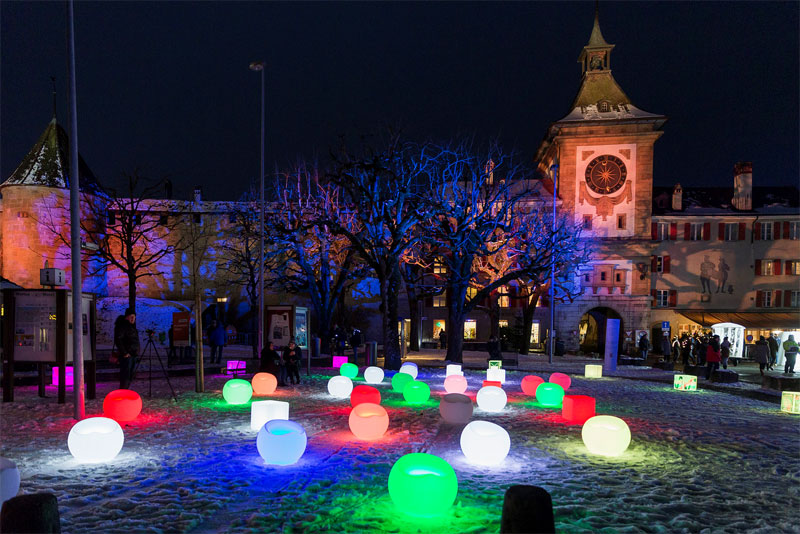 Festival des lumières Morat