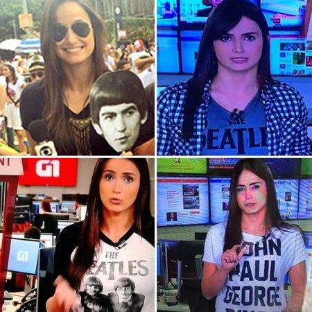 Mari Palma e as Camisetas dos Beatles