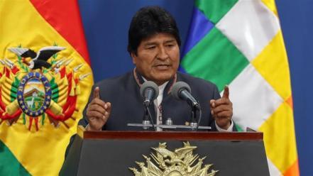 Image result for Evo Morales renuncia à Presidência da Bolívia
