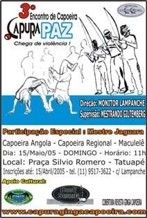 Portal Capoeira Músicas pro CAPURAPAZ Musicalidade