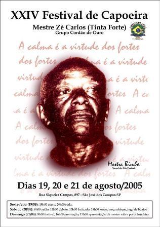 XXIV Festival de Capoeira – Mestre Tinta Forte