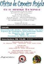 Portal Capoeira Oficina de Capoeira Angola Com Mestre Roxinho e Roda Eventos - Agenda